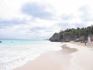 The beaches of Playa del Carmen where we'll be in 6 short days!