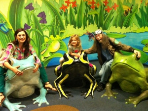 Making memories at the aquarium!
