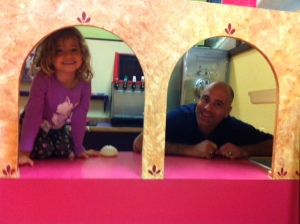 Hamming it up at the local children's museum.